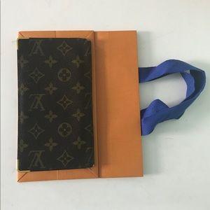 Authentic Louis Vuitton long wallet card holder